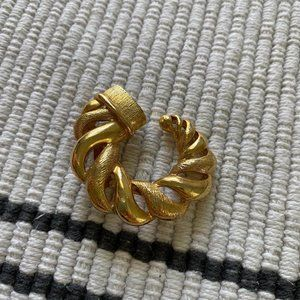 Vintage Gold Tone Pin Brooch Jewelry Germany